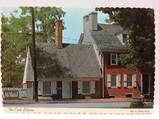 Postcard Old Dutch House, New Castle, Delaware