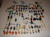 LEGO 120 + Figures Minifigs Star Wars Space DC Marvel Harry Potter LOTR More