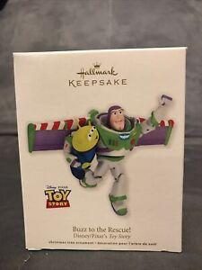 2012 Buzz to the Rescue Hallmark Disney Toy Story Retired Ornament