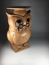 Vintage Twin Winton Owl Cookie Jar
