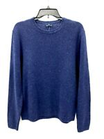 Brooks Brothers Mens Navy Blue Speckle Merino Wool Crew Neck Sweater Sz XL NWT