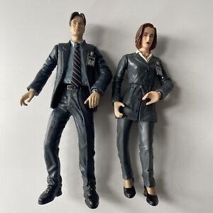 """1998 McFarlane Mulder & Skully Figures Xfiles 6"""""""