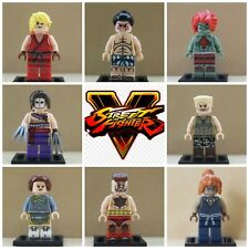 Street Fighter PS4 Xbox One Game Ken Ryu Blanka  8 Mini Figures Use With Lego