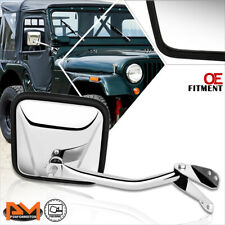 For 60-86 Jeep CJ3/CJ5/CJ6/CJ7 OE Style Manual Side Rear View Door Mirror Right