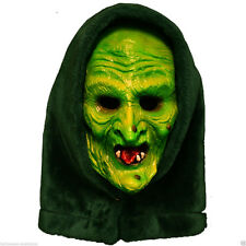 Halloween 3 Season Of The Witch Adult Witch Mask w Attached Shamrock Button Tag