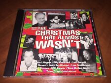 The Christmas That Almost Wasn't Music CD Lithgow Garrett NEW SEALED