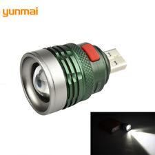 Portable USB Charging Computer Light Reading Lamp Torch LED Mini Power Bank Camp