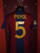 PUYOL BARCELONA 2007/2008 MAGLIA SHIRT CALCIO FOOTBALL MAILLOT JERSEY SOCCER