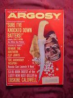 ARGOSY July 1961 Jul 61 ERSKINE CALDWELL JACKIE GLEASON