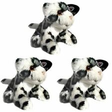 Pack of 3 Snow Leopard 13cm Soft Toys