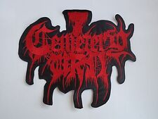 CEMETERY URN EMBROIDERED BACK PATCH