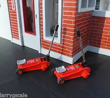 3 Ton Hydraulic Jack (2 Pack) Miniatures1/24 Scale G Diorama Accessory Items