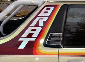 Vehicle decals Full Color Subaru BRAT Stripes 77-81