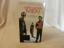 Matchstick Men (VHS, 2004) Nicolas Cage, Sam Rockwell