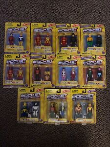 DC Comics Pocket Super Heroes Lot Of 11 Series 1 & 2