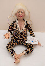 Made-in-the-Usa 1-of-a-Kind Good Luck Angel Doll by Berea Craftsman Lindy Evans