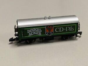 Vintage Marklin Mini-Club Z Scale DINKEL ACKER CD-Pils Beer Car ~Germany