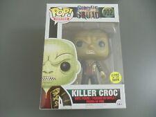 Funko POP Killer Croc Glow in the Dark (Roi) Suicide Squad