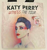 Katy Perry RARE Unused Witness Tour 2018 Set VIP Exclusive Tote Bag & Pass