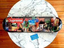 Supreme NYC stack logo By weirdo dave Skateboard deck 2021 FW21