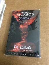 MICHAEL JACKSON JANET JACKSON SCREAM FACTORY SEALED CASSETTE SINGLE C3