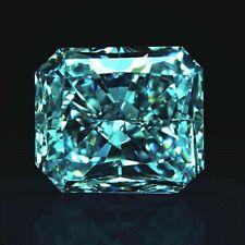 6CT(12X9MM) Radiant Cut Royal Blue Premium Diamond Simulated Lab Created Loose