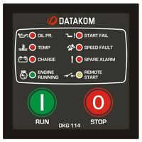 Datakom DKG-114 Generator Manual and Remote Start Control Panel/Controller