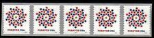 #5130 Patriotic Spiral PNC5  PL#P11111 - MNH