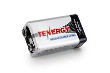 Tenergy 9V 500mAh Li-ion Rechargeable Battery