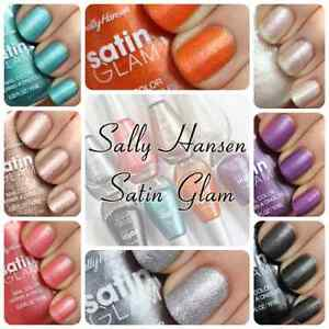 "Sally Hansen Satin Glam Nail Polish, ""Choose Your Shade!"""
