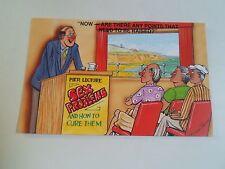 BAMFORTH Vintage Postcard Comic Series 2043 PIER LECTURE SEX PROBLEMS