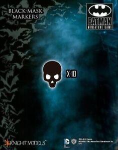 Black Mask Markers Knight Models Batman Miniatures Game DC Comics New