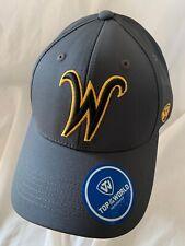 WICHITA STATE SHOCKERS NCAA TOP OF THE WORLD FRESH 2 HAT CAP ADJ SNAPBACK OSFM