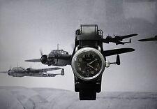 Natalis 2.WK Military Deutsche Reichsluftwaffe Piloten Flieger Dienstuhr  1935