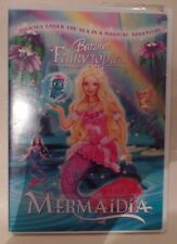 BARBIE FAIRYTOPIA, MERMAIDIA, DVD, CASE & ARTWORK