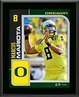 """Marcus Mariota Oregon Ducks 10.5"""" x 13"""" Sublimated Player Plaque - Fanatics"""