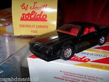 Solido - Chevrolet Camaro - 1983 - 1/43 - Réédition