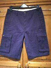 "Men's LEVIS Cargo Shorts, Navy Blue, Waist 32"""