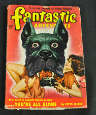 Fantastic Adventures Vol 12 #7 Vg-Fine You'Re All Alone By Fritz Leiber!