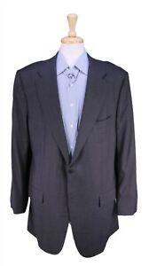 New! Kiton Solid Charcoal Gray 2-Btn Super 150's Wool Blazer Jacket 44L