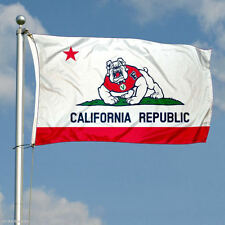 College Fresno State Bulldogs California State Large 3FTX 5FT Custom flag