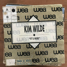 KIM WILDE - IT'S HERE - SINGLE MCA SPAIN 1990 PROMO
