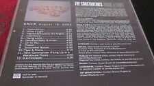 THE CONSTANTINES ‎– Shine A Light CD PROMO/ADVANCE SUB POP ADVSP 569 rare 2003