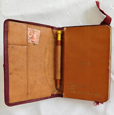 Soldiers vintage pocket diary First World War 1916 R G Ketley Essex Yeomanry WW1