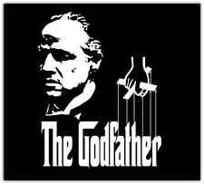 "The Godfather Movie Car Bumper Window Tool Box Sticker Decal 4.5""X4.5"""