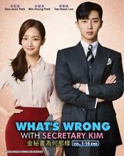 Korean Series: WHAT'S WRONG WITH SECRETARY KIM DVD in English Sub