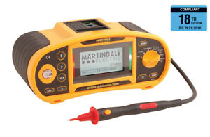 Martindale ET4000 Rechargeable Multifunction tester - 2 Year Warranty