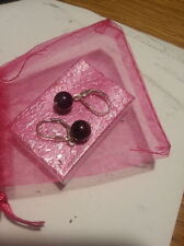 Amethyst Unbranded Fine Earrings