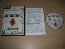 Oblivion The Elder Scrolls IV - KNIGHTS OF THE NINE Add-On Expansion Pc DVD Rom