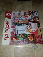 GRANDMA'S KITCHEN Cocina de la Abuela Springbok 1000pc Puzzle NEW SEALED Jigsaw